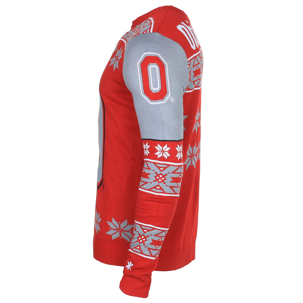 Ohio State Buckeyes Logo Ugly Christmas Sweater
