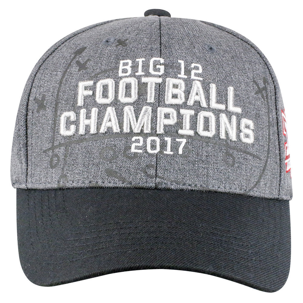 Oklahoma Sooners Big 12 Champs Hat 2017 Image a