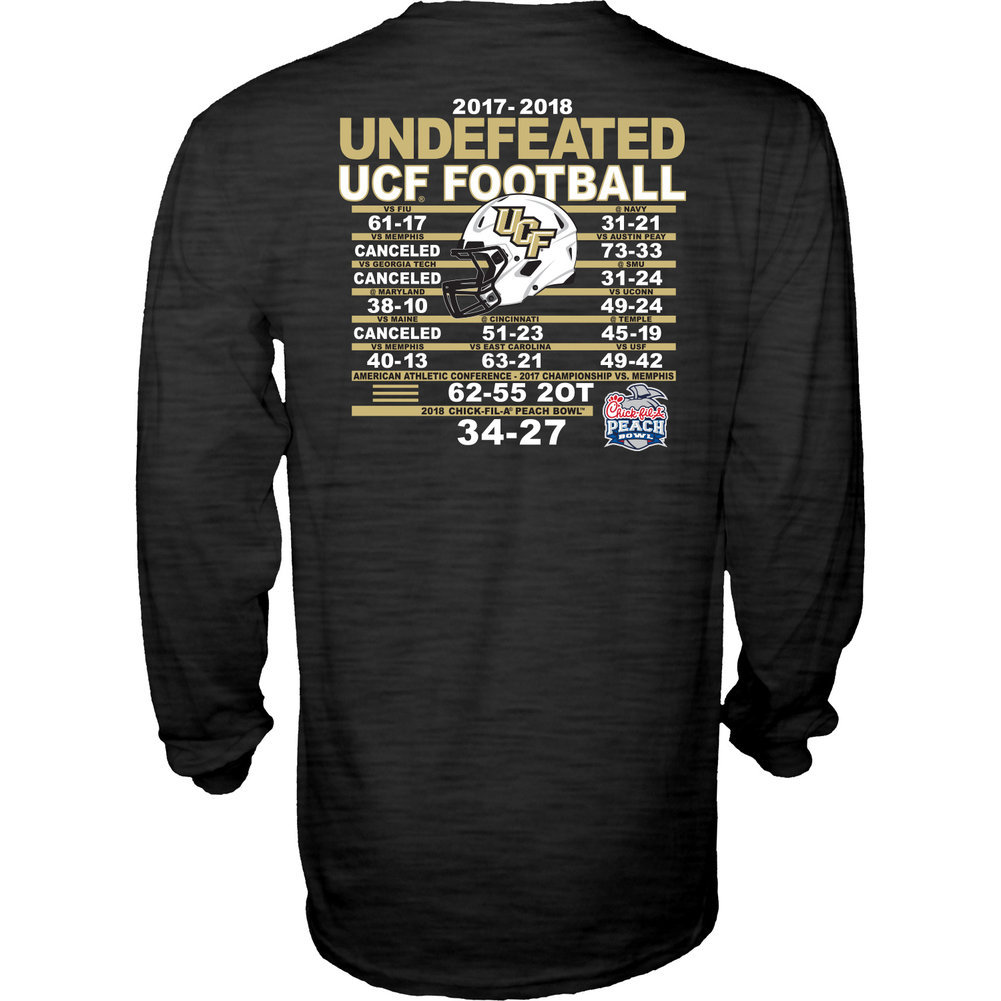 UCF Knights Champs Long Sleeve Tshirt Charcoal Image a